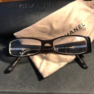Authentic Vintage Chanel Reading Glasses